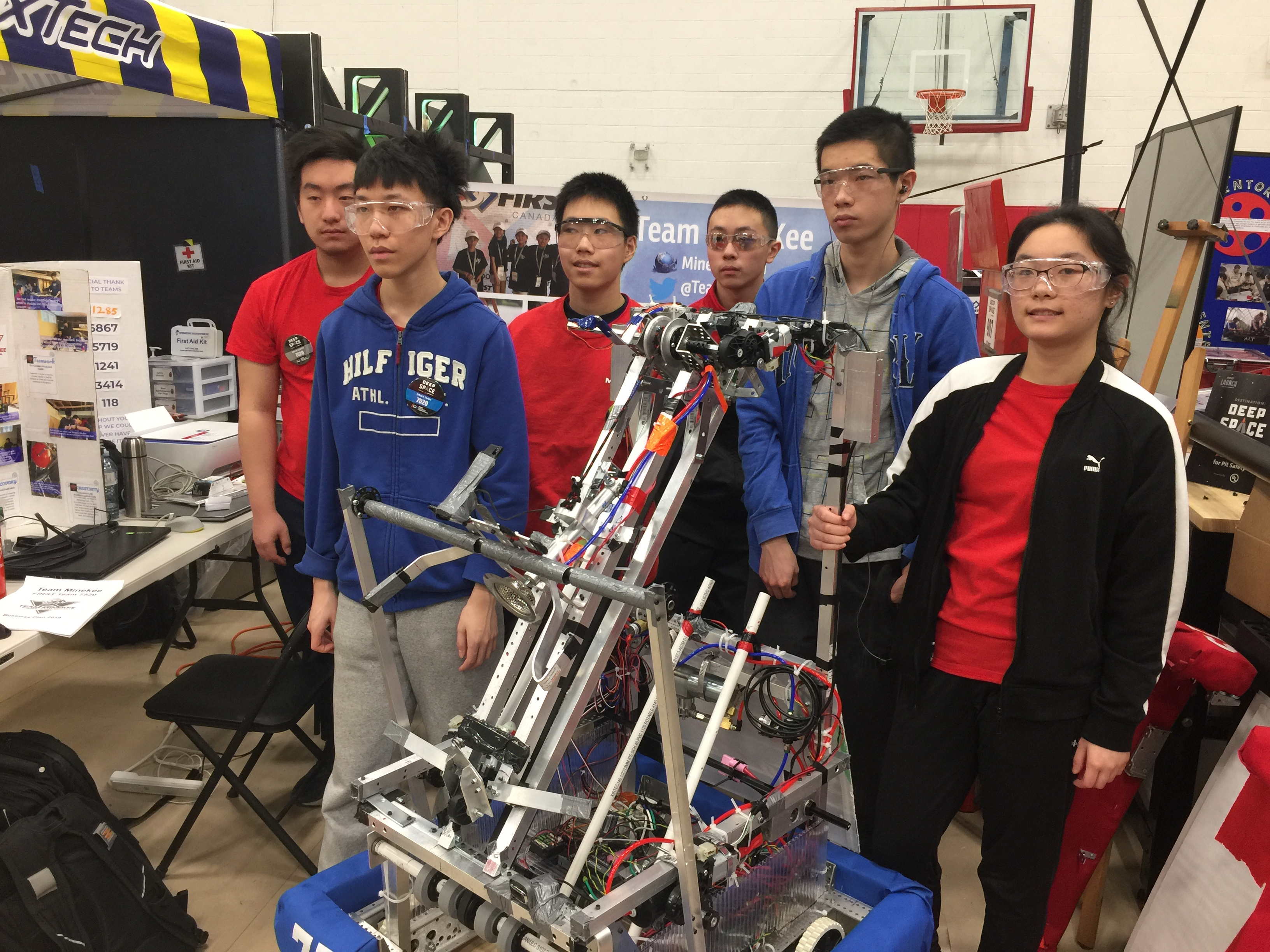 Permalink to:First Robotics Competiton